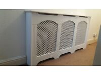 Radiator covers like new large cambridge style only 4 months old must go