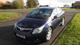 TOYOTA AVENSIS 2.2 TR D-4D,2009,Alloys,Air Con,Cruise Control,Ful;l Service History,Very Clean