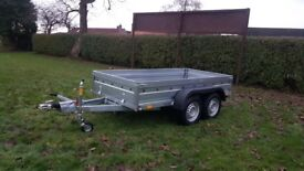 NEW CAR TRAILER 2700KG 10 X 5 with braked £1850 INC VAT