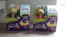 Peter Rabbit Easter Eggs and Soft Toy Collectables