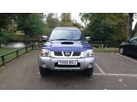 Nissan navara 2005 pickup for sale including canopy and roll bar