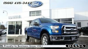 2017 Ford F-150 *NEW* SUPER CAB XLT *300A* 4X4 3.5L V6 GAS