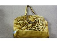 Valentino Flower Leather Shoulder Bag Hand Bag Handbag (also one Prada,Chanel, Michael Kors, MK)