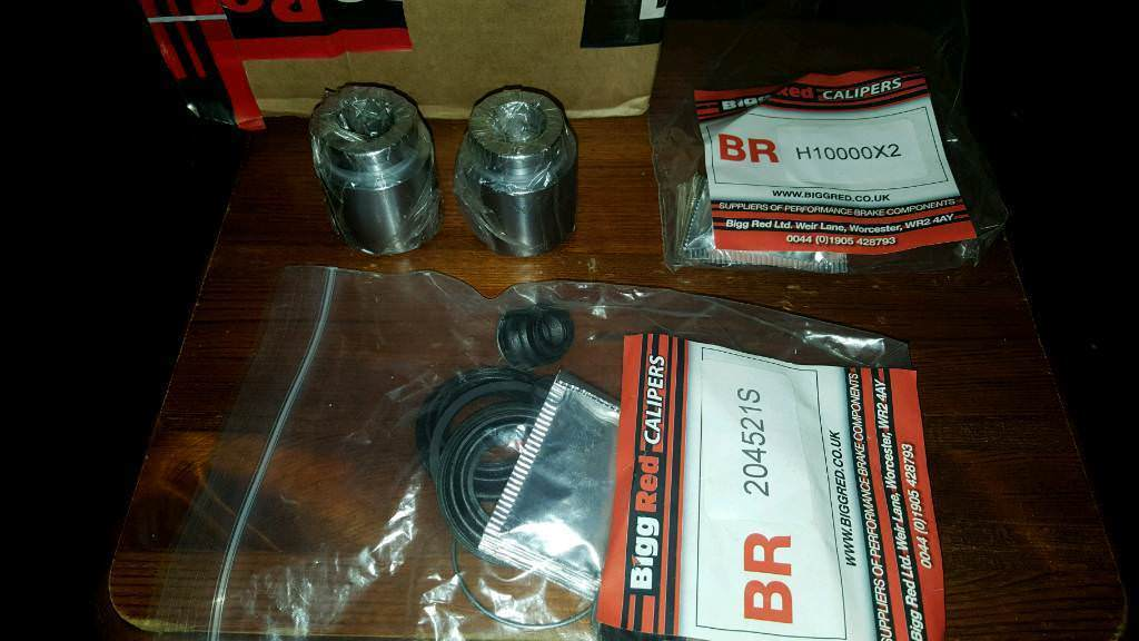 Lexus IS200 Brake Caliper rebuild kit with pistons by Big Red also fits  many other models and makes | in Bournemouth, Dorset | Gumtree