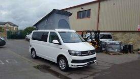 Volkswagen T6 2.0 150PS 6 speed, By Wellhouse, Highline spec, Candy white, sliding rear seat