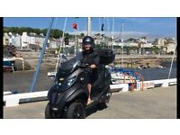 Piaggio MP3 500 Sport Touring, can be ridden on a car license