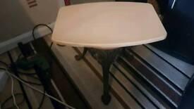 Small heavy table