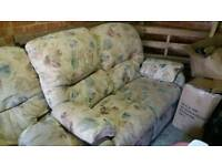 G-plan sofa and electric recliner chair
