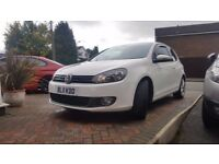 Fabulous White 3 door Golf GT TDI 140 FOR SALE.