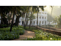 Luxury 5* Break in Goa, India. FURTHER REDUCTION.