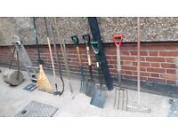 **GARDEN TOOLS**SHOVELS**£10 EACH**BARGAIN!!!**MORE AVAILABLE**