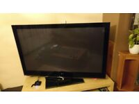 "LG 60"" plasma TV,"