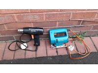 Black & decker jigsaw & heat gun