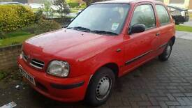 Nissan Micra 1.0L 2000 3 Door Petrol Manual
