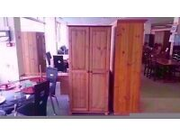 BRAND NEW!!! 2 door pine wardrobe classic design