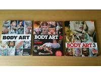 Body art 1.2.3Tattoo magazines in good used condition! Can deliver or post!