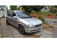 Vauxhall Corsa 1.4i CDX (Corsa B) Sold as Spares & Repairs £325.00 ono
