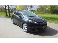 2009 09 Reg FORD FIESTA 1.6 ZETEC S BLACK 1 OWNER FROM NEW LOW MILES