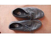 Leather Vans size UK 8 (US 10)