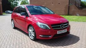 Mercedes benz b180 cd amg 2013 63 reg in blood red