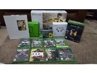 Xbox One 1TB 16 Games 2 Controllers and Headset