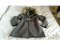 Lady plus size 20 hooded jacket coat fashion clothes