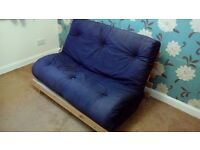 Futon - good quality futon for free. pickup required.