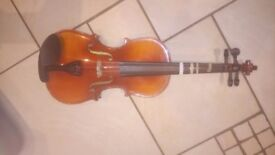 3/4 size violin. Only used for one year. Great condition. With bow and case.