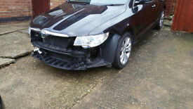 Skoda Superb Estate Damaged Repairable Category N Low Mileage Diesel