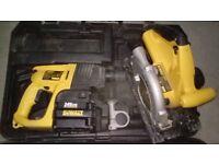 DEWALT DW005 Hammer Drill SDS 3 MODE 24V + DEWALT DW007 CIRCULAR SAW GOOD PRICE!