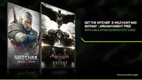 Witcher 3 wild hunt and Batman Arkham Knight