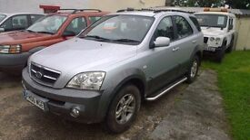 kia sorento crdi xs 2006 reg, 2.5 turbo diesel, 172,000 miles with lots of service history