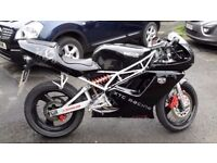 Sachs XTC 125 Supersport in black and silver