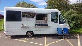 Catering van. Ice cream van. Coffee van.