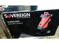 Sovereign easy garden shredder brand new