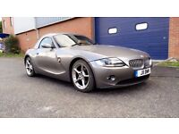2004 BMW Z4 3.0i SPORT SE ROADSTER - AUTOMATIC - LOW MILEAGE - FULL HISTORY - WITH HARDTOP