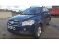CHEVROLET CAPTIVA HPI CLEAR ONE YEAR NEW MOT FULL SERVICE HISTORY