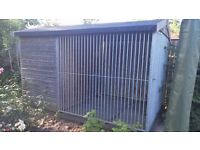 Large Dog Kennel and Run £100