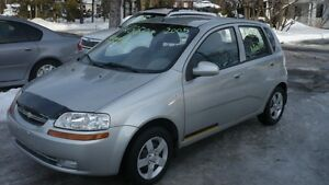 2005 Chevrolet Aveo LS AUTOMATIC 114000KM  FEMME PROPRIO 70 ANS