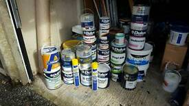 Various Armstead paint for sale