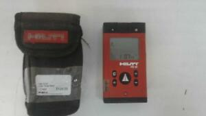 Hilti Laser Range Meter (1) (#51821) (SR918481) We Buy and Sell New and Used Tools!