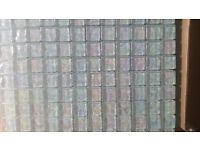21sheets of Pearl Iridescent Glass Mosaic Bathroom Wall Tiles multi color worth 356GBP