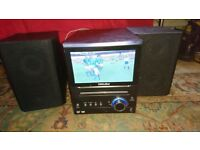 YAMADA TV/DVD AND STEREO PLAYER WITH CONTROLLER