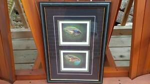 LIMITED EDITION Fly Fishing Print FRAMED
