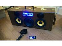 Home made Bluetooth boombox