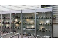 Glass display cabinets for shop (5)