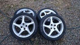 "Mazda mx5 16"" alloy wheels"