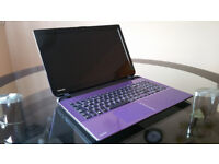 As New Purple Toshiba Satellite L50D 15.6'' Laptop 6GB RAM 1TB HDD with Windows 10