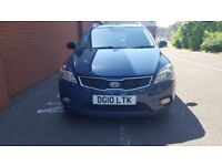 KIA CEED ,ESTATE,MANUAL,1.6 DIESEL,A/C,BLUETOOTH,FSH,MOT,TAXED,READY TO DRIVE,IMMACULATE CONDITION