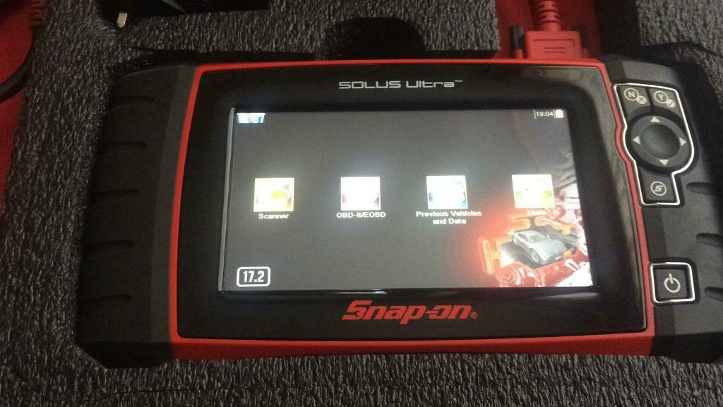 Snap on solus ultra 17.2